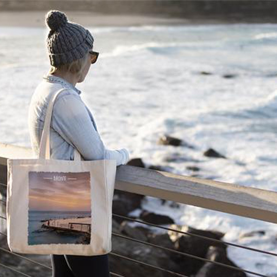 Sunrise Shots Tote Bags